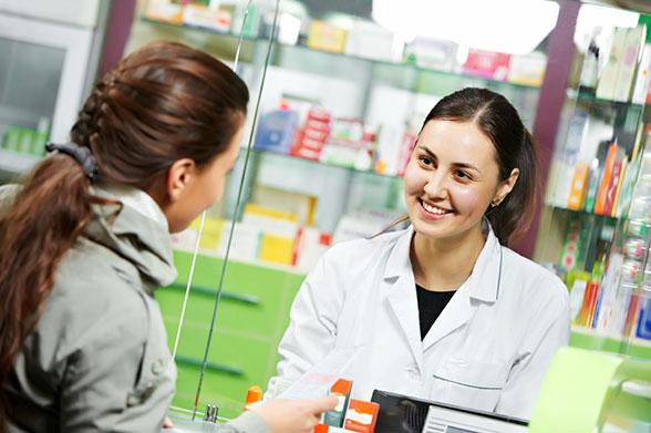 Farmacevt v lekarni