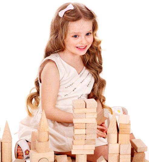 otrok in igra