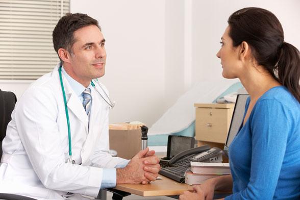 zdravnik in pacient