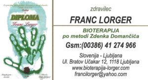 Franci Lorger - kontakt