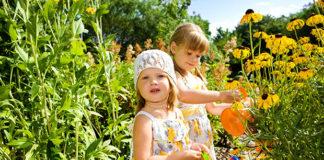 otroci vrtnarjenje