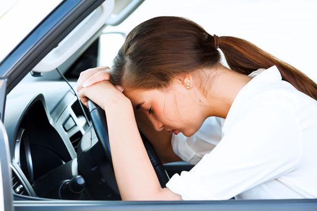 utrujenost za volanom