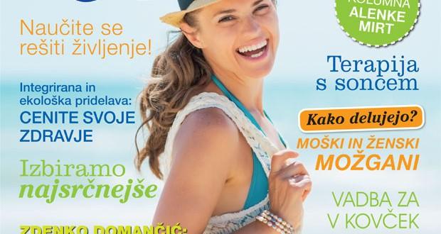 Izšla je nova številka revije Zdravje, avgust 2014
