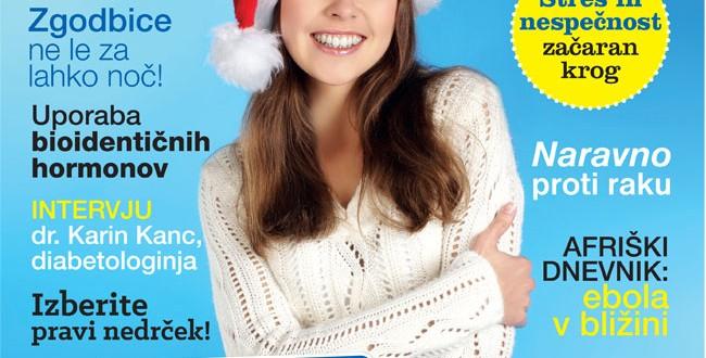 Izšla je nova številka revije Zdravje, december 2014