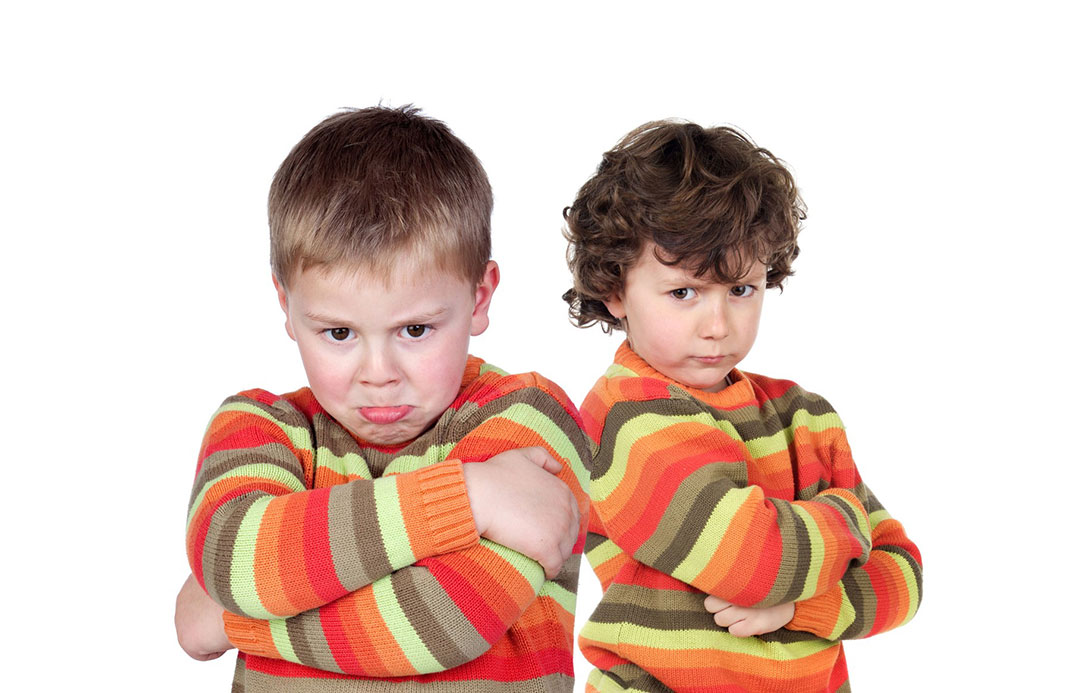 Otroška jeza