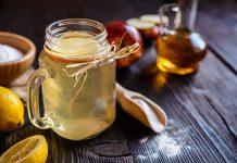 Jabolcni kis in soda bikarbona