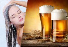 Pivo umivanje las s pivom