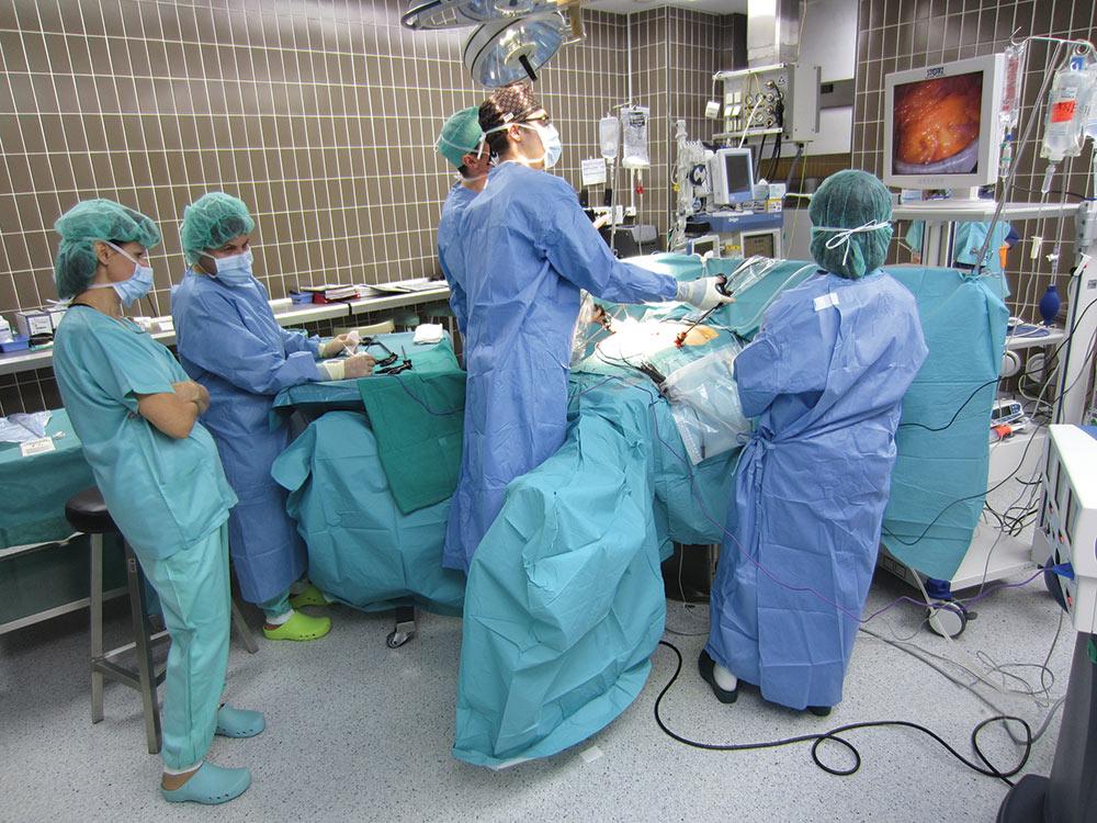 Laparoskopska operacija želodca