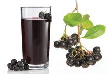 Aronija sok, poln zdravja