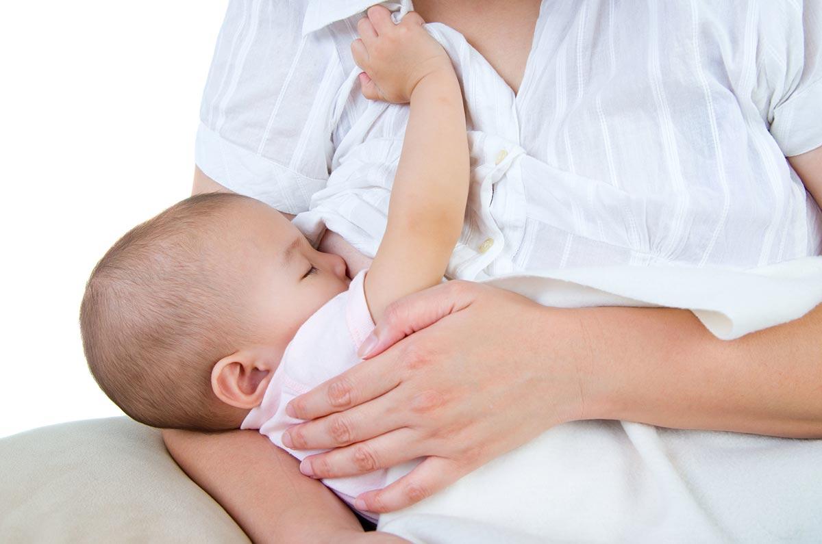 Prehrana dojenčka, dojenje