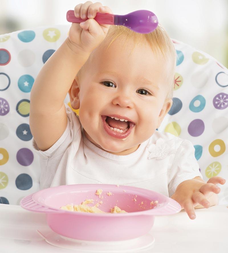 Prehrana dojenčka, gosta hrana