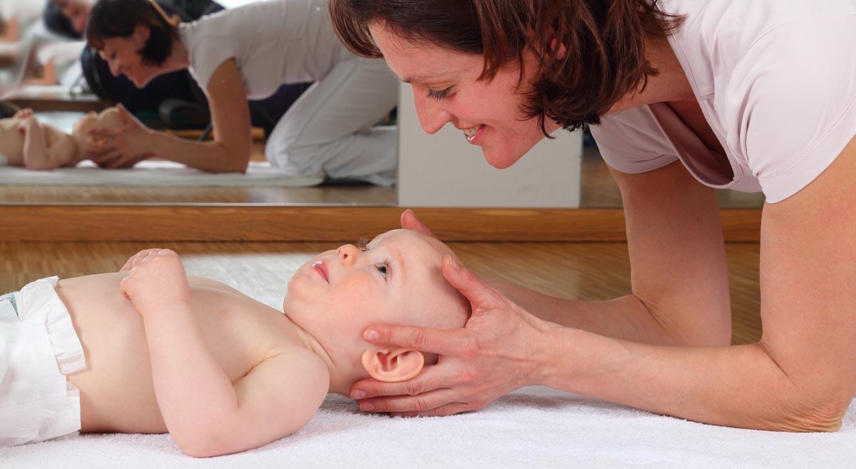 Osteopatija je primerna tudi za otroke in dojenčke