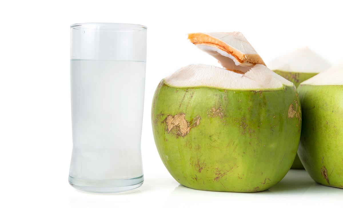 Kokosova voda uporaba